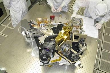 Gold platings enable James Webb telescope