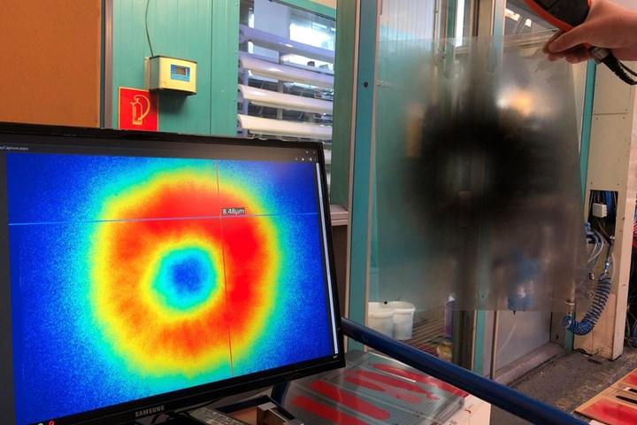 liquid coating, film measurement, surface finishing software