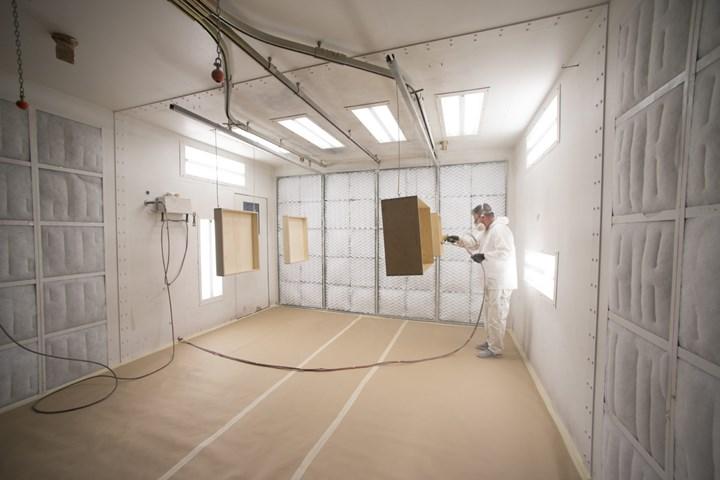 liquid coating, paint line, industrial conveyors, conveyor system