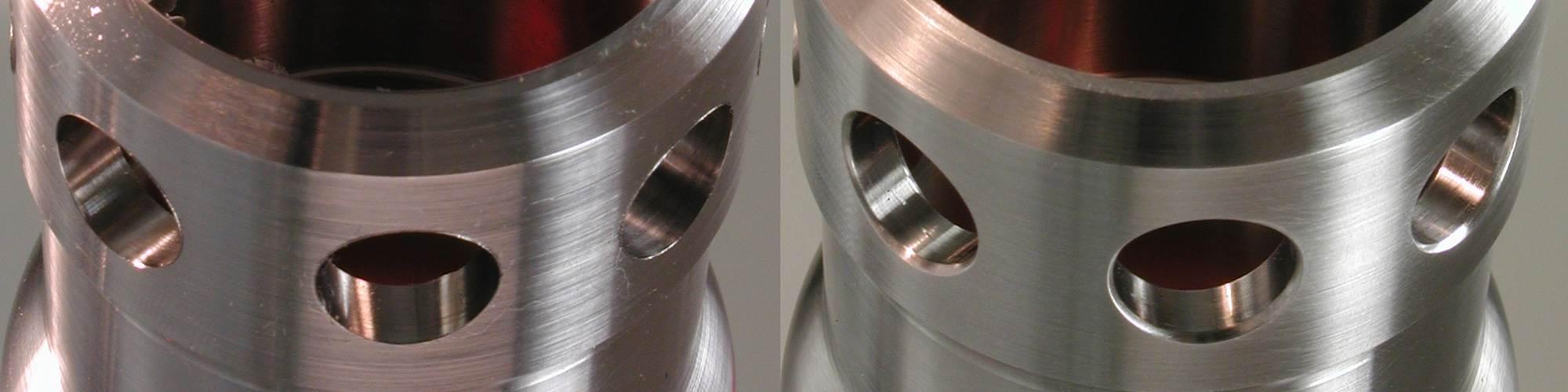 Versatile, Flexible Honing Tool Used for Surface Finishing, Cross Hole Deburring