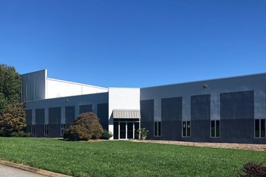 An exterior photo of Metal Chem's new facility in Greenville, S.C.