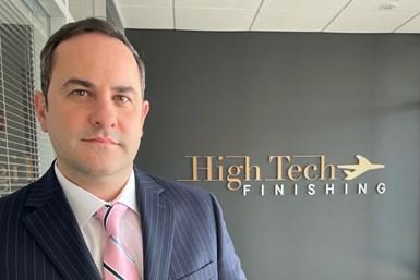 A photo of Simon Haining, HighTech Finishing's new president