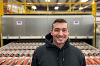 A photo of Ryan Hass, new senior technician at Deimco Finishing Equipment