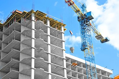 A stock photo of construction
