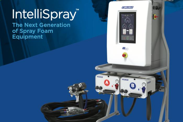 Carlisle Fluid Technologies Unveils Spray Foam System