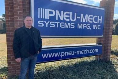 finishing industry, coating industry, Pneu-Mech