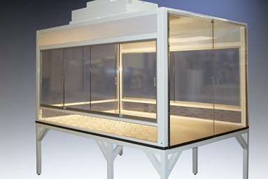 Hemco Introduces New Enclosure for Powder Packaging and Handling