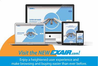 Exair Corporation Updates Website To Improve User Experience