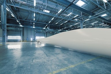 Hexcel HexPly XF Streamlines Wind Blade Shell Manufacturing