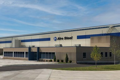Alro Steel Milwaukee moves to former Central Steel building.