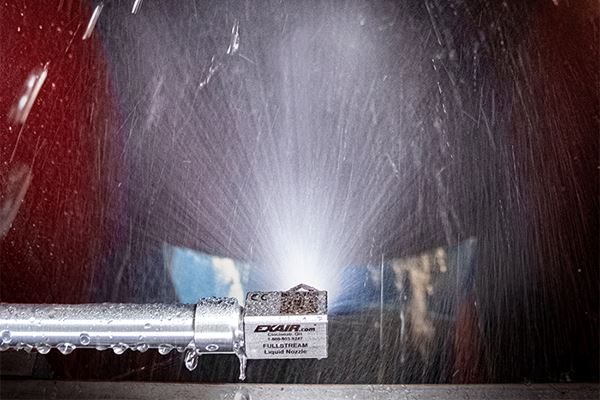 Exair Full-Stream Nozzle Resists Clogging, Corrosion image