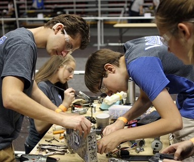Big Kaiser Presents Fourth Annual Donation to National Robotics League