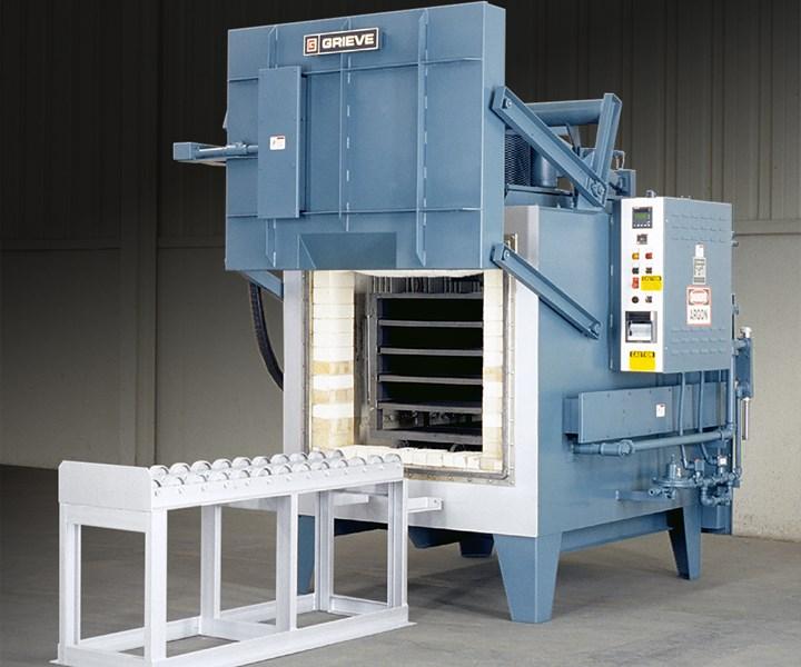 heavy-duty box furnace from Grieve