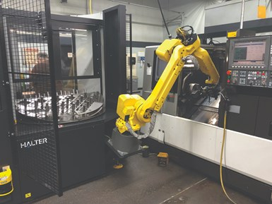 Superior Metal Products automated turning cell