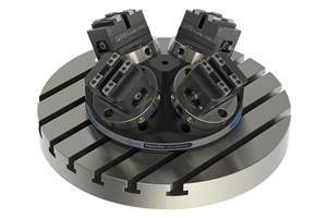Jergens Pyramid Risers Enable Multipart Loads for Five-Axis Machining