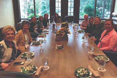 Women of PMPA lunch.