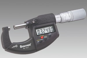 Starrett Micrometers Designed to Withstand Harsh Elements