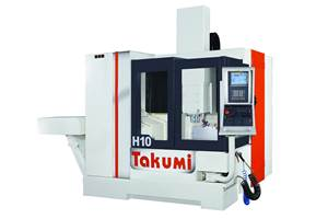 Takumi H10 Double-Column Machine Built for Speed, Accuracy