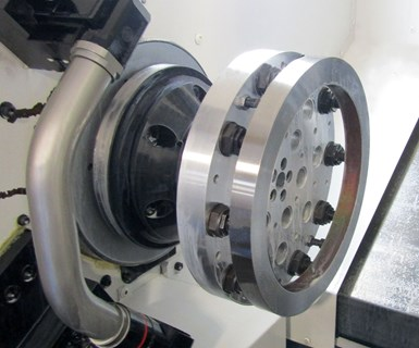 Turning to an Adhesive for Lathe Workholding