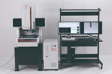 MiSCAN Vision System enables highly accurate autonomous scanning covering microforms to larger workpieces