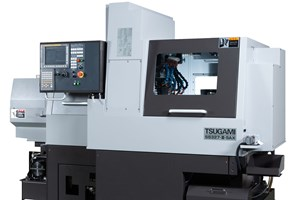 Tsugami B-Axis Swiss-Type Machines Complex Shapes