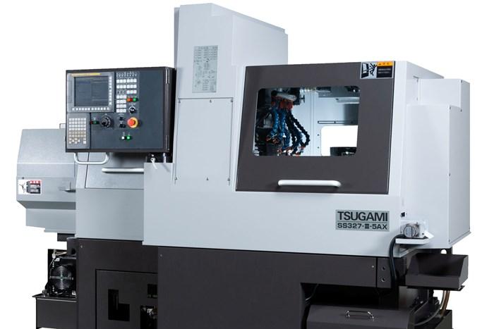 Tsugami B-Axis Swiss-Type Machines Complex Shapes