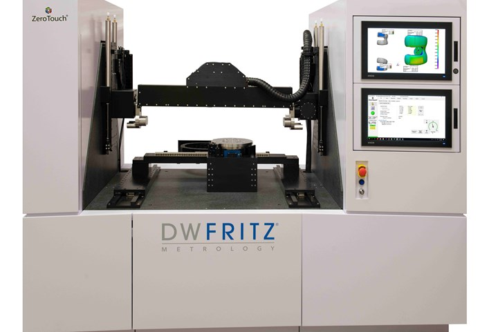 DW Fritz ZeroTouch measuring system