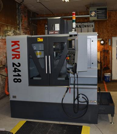 KVR-2418 vertical machining center