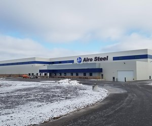 Alro Steel's new facility