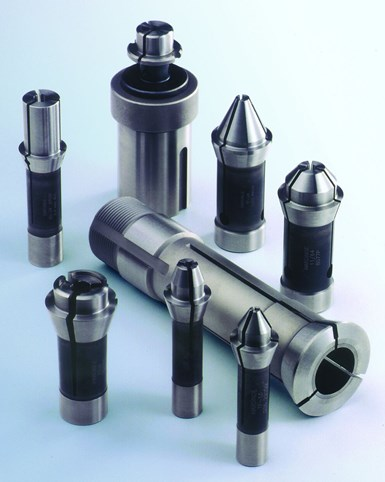 Swiss-type workholding