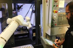 Human-Like Robot Automates Secondary Machining Operations