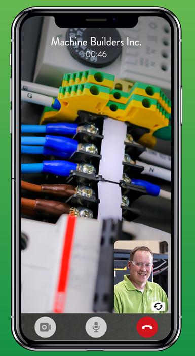 video screen on smartphone