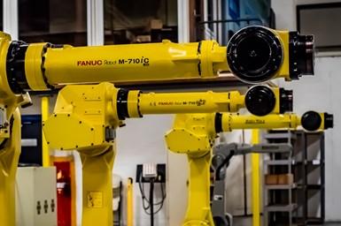 FANUC robots at RobotWorx
