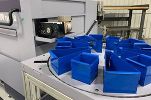 A New Way to Collect and Sort Parts for CNC Machine Tools