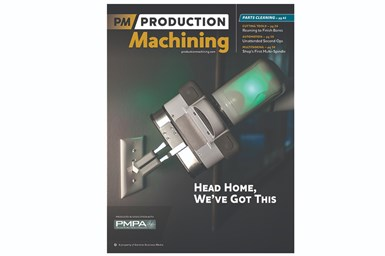 Readers chose the November 2020 cover in Production Machining's recent Favorite Cover Survey.