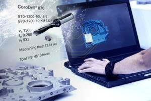 Sandvik Coromant, Autodesk Partnership Reduces CNC Prep Time
