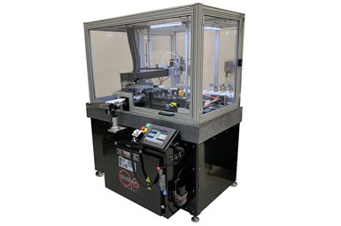 Glebar's fully automated PG-9DHD centerless form grinder