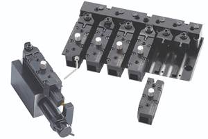 Clamping System for Swiss-type Lathes Enables Fast Tool Changeovers