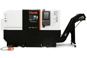Mazak QT-Ez Turning Centers Offer Easy Automation Integration
