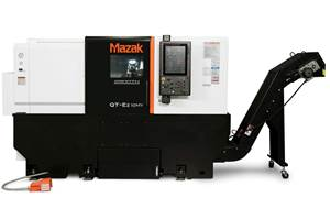 Mazak QT-Ez Turning Centers Offer Easy Automation Integration