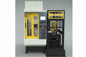 Automated JobShop Cell Pro Designed for High-Mix, Medium-Volume Machining