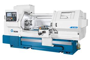 Romi C 420, C 510 CNC Lathes Well Suited for Gun Barrel Machining