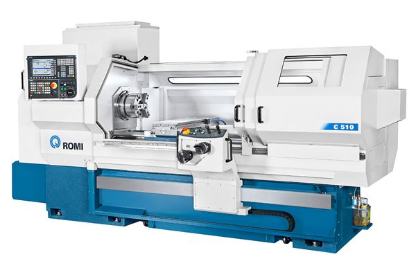 Romi C 420, C 510 CNC Lathes Well Suited for Gun Barrel Machining image