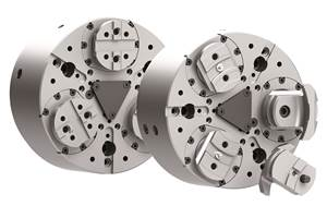 TX Series Pull-Down Chucks Have Constant Clamp Force at Higher Speeds, Feeds