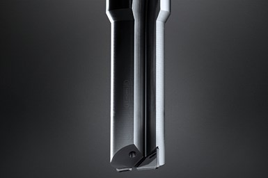 With new geometries for producing precise core holes, the DDHM tool system enables machining of carbide and sintered ceramics.