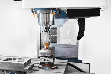 Romi hybrid manufacturing machining center