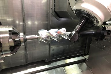 Whipple Superchargers rotor machining