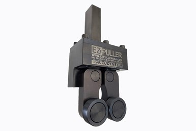Accudyne's EZ-Puller bar puller auto adjusts and provides optimal gripping force regardless of bar size or shape.