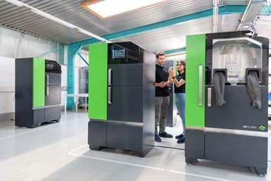 One Click Metal's line includes the Boldseries metal 3D printing solution.
