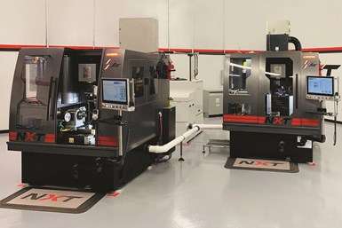 Star Cutter Company's renovated facility includes a machine tool demonstration area.